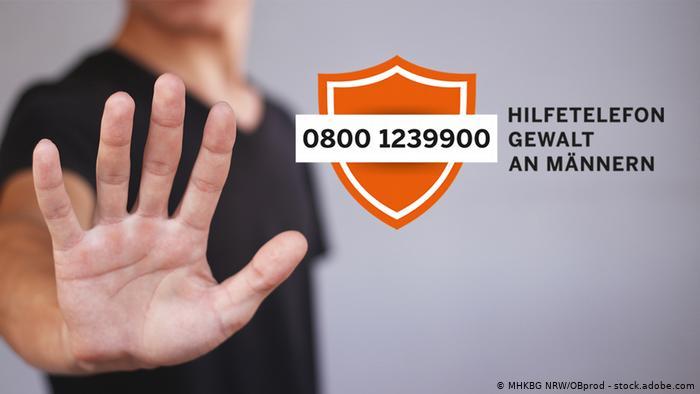 Teléfono para hombres maltratados en Alemania